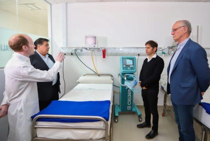 """Kicillof dijo que Provincia """"duplicó las instalaciones"""" para combatir el coronavirus"""