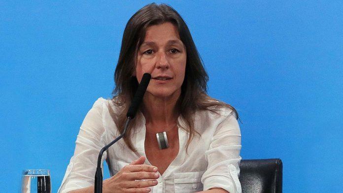 La ministra de Seguridad, Sabina Frederic