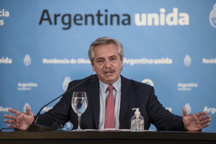 Alberto Fernández anuncio