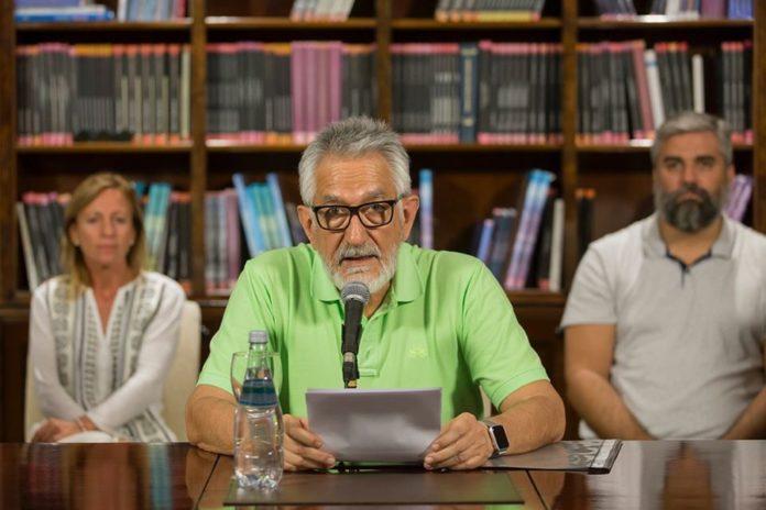Alberto Rodríguez Saa, gobernador de San Luis