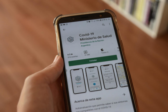 App para personas que vuelven del exterior