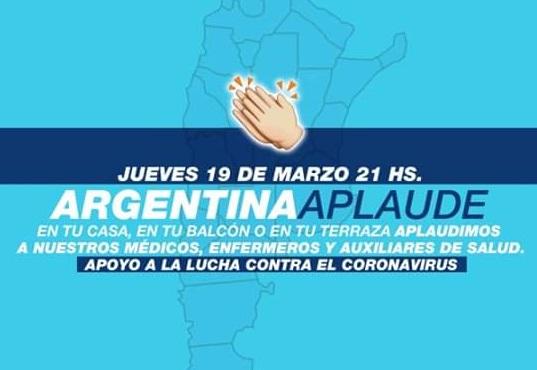 Argentina aplaude