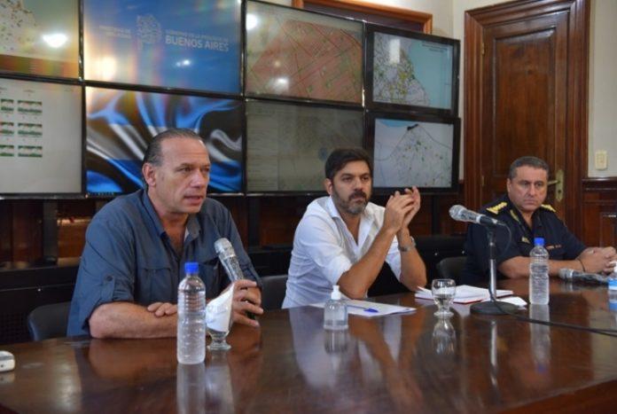 "Berni habló de la ""cuarentena comunitaria"" para zonas carenciadas"