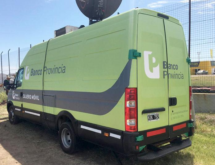 BAPRO despliega cajeros móviles en el Conurbano para que no se repitan largas filas