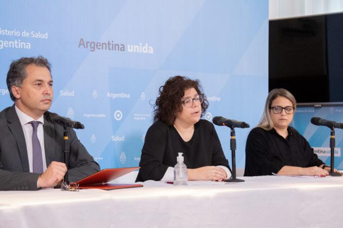 Las autoridades del Ministerio de Salud comunican el parte diario