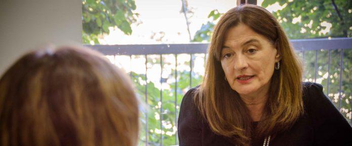 Estela Díaz, ministra de las Mujeres, Políticas de Género y Diversidad Sexual bonaerense