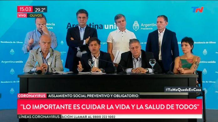 Coronavirus: mensaje unificado de Kicillof con intendentes oficialistas y opositores