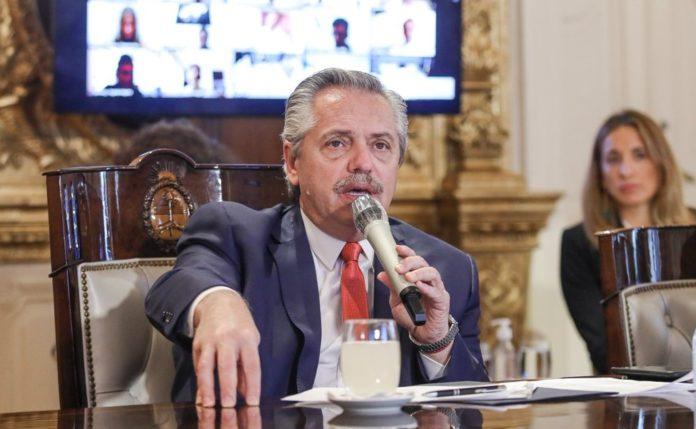 """Alberto Fernández dijo que """"la cuarentena es prácticamente plena"""" en el país"""