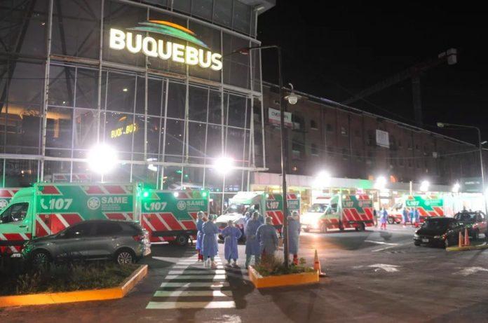 El joven que viajó en Buquebús con presunto coronavirus podría ir hasta 15 años preso.