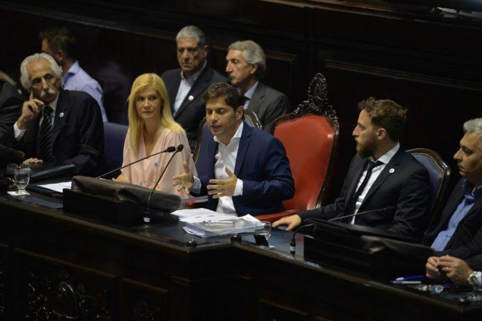 Kicillof abrió el año legislativo sin anuncios pero con un fuerte pedido de fondos