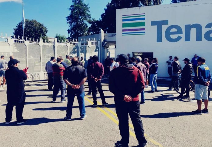 """La respuesta de Techint: más suspensiones y recortes salariales por """"facturación 0"""""""
