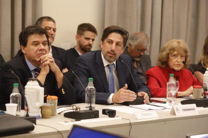 El Ministro de Educación nacional, Nicolás Trotta