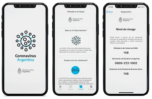 El Gobierno lanzó autotest online de coronavirus para personas con síntomas compatibles