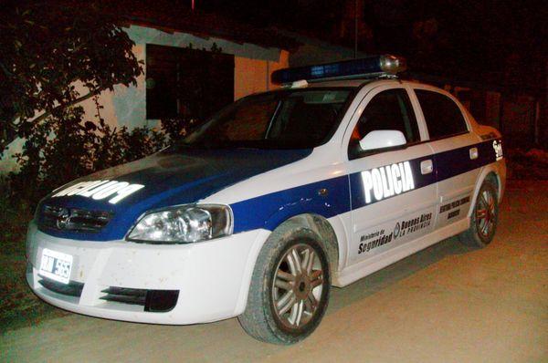 patrullero de noche