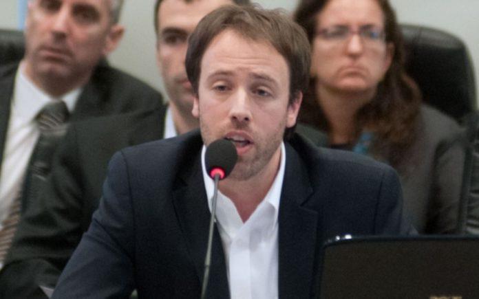 El ministro de Hacienda bonaerense, Pablo López.