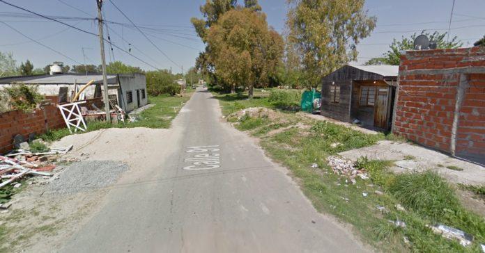 La cuadra donde ocurrió el brutal crimen: 91 entre 12 y 13, barrio Aeropuerto, La Plata.