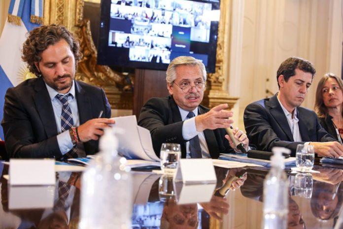 El presidente Alberto Fernández ratificó que la cuarentena total no se flexibiliza