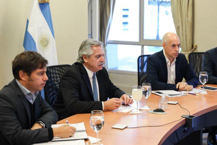 Fernández analizó con gobernadores la continuidad del aislamiento sin muchos cambios