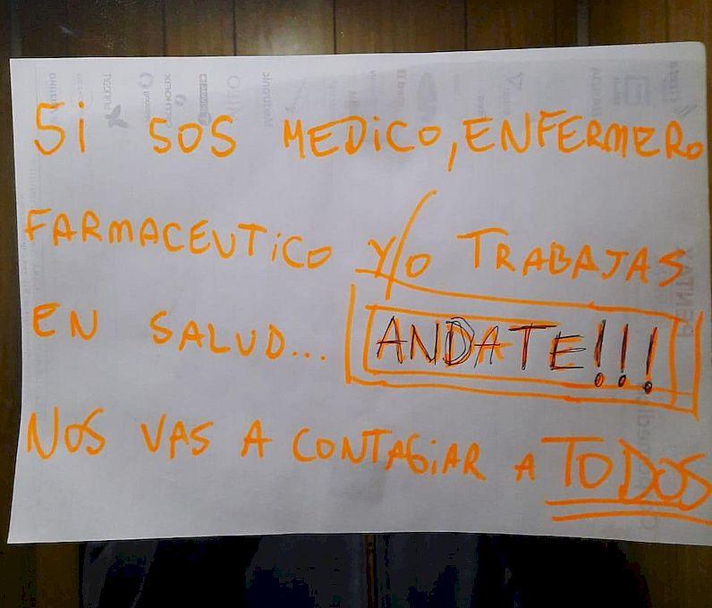Médicos y pacientes sufren discriminación por parte de vecinos con temor al contagio