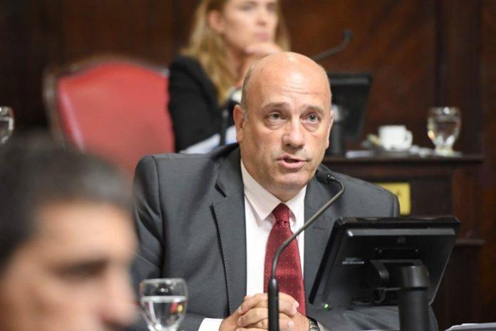 El senador Andrés De Leo, autor de una de las iniciativas