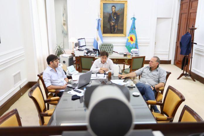 Intendentes resistieron retiro de policías y Berni garantizó custodia de ingresos