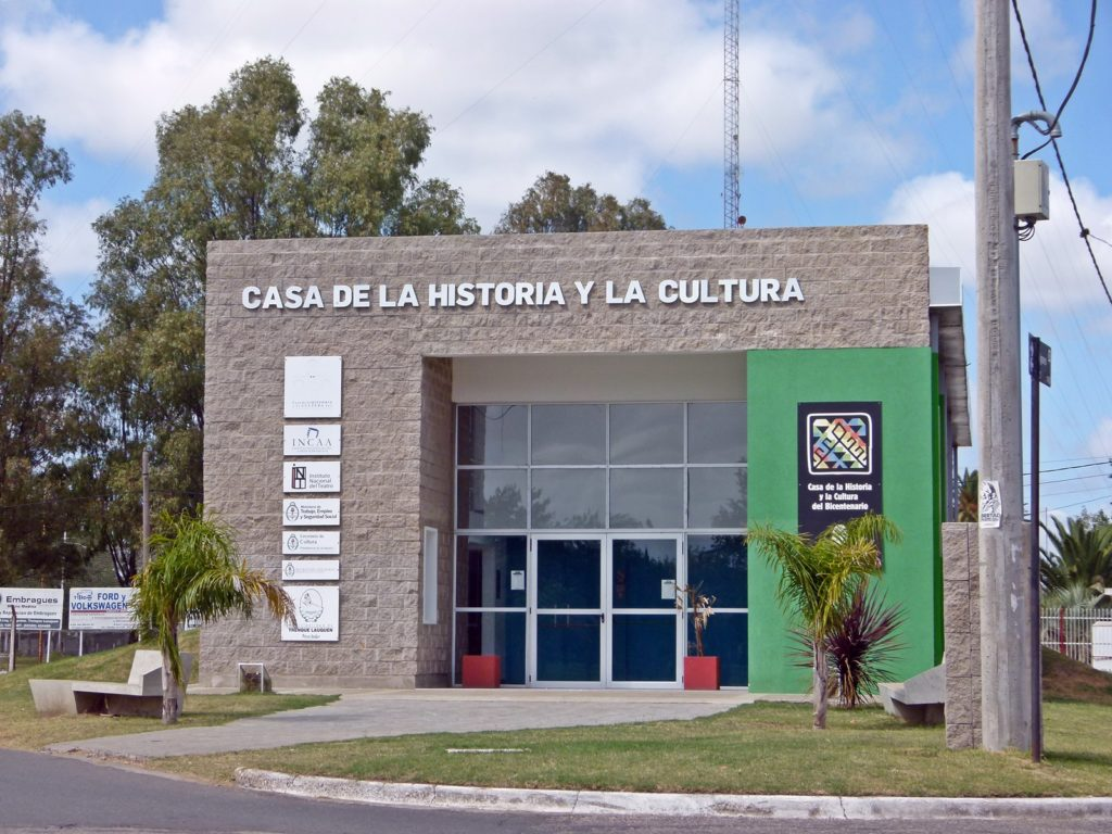 La Casa de la Historia y la Cultura. (Foto: Susana Gioacchini)
