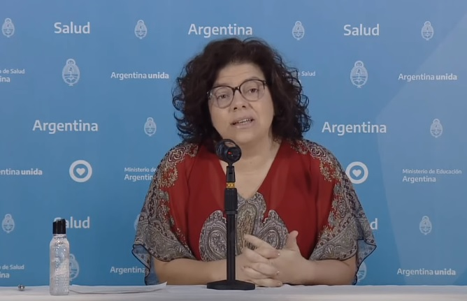 La secretaria de Acceso a la Salud, Carla Vizzotti.