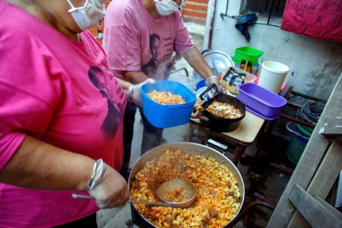 La cara más dura de la cuarentena: se triplicó la demanda de alimentos en comedores