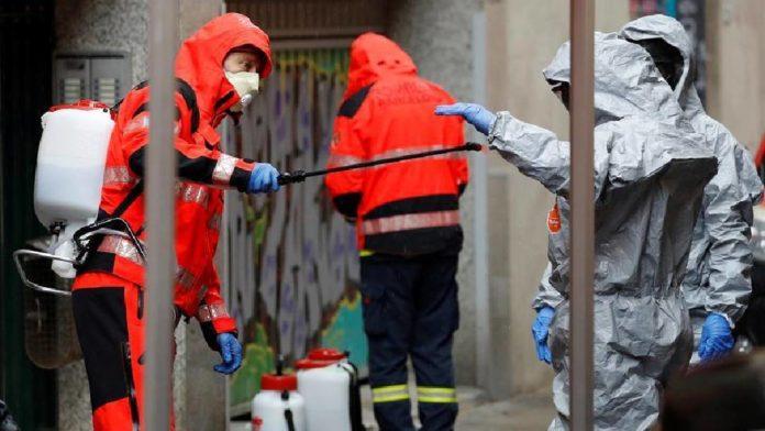 España supera su propio récord con 950 fallecidos