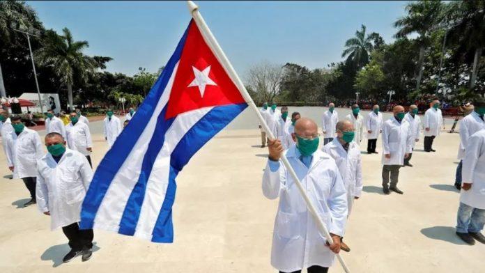 Axel Kicillof dijo que los médicos cubanos se incorporarán solo si hace falta