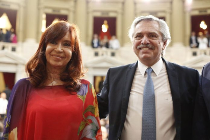 Cristina cumplió su cuarentena y se reunió con el presidente en Olivos