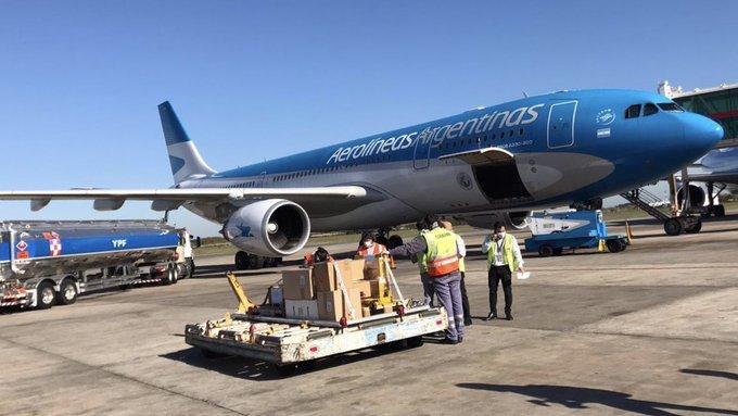 Aerolíneas Argentinas realiza nuevos vuelos de repatriación