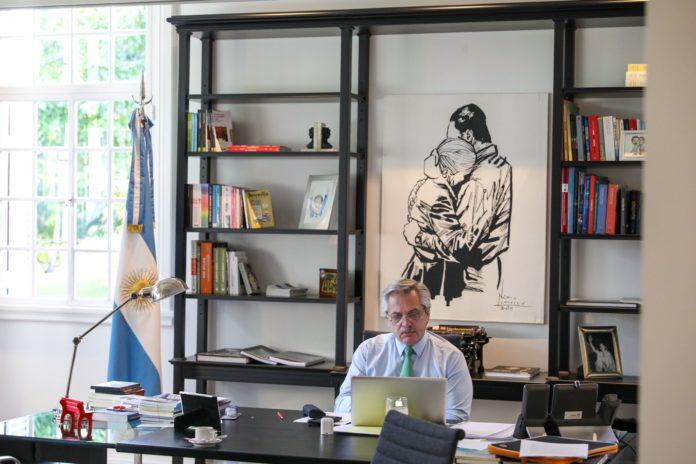 """Un mes de cuarentena: """"Invertimos casi un 3% del PBI"""", dijo Fernández"""