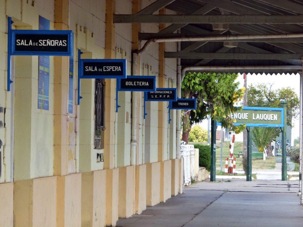 La estación de tren. (Foto: Susana Gioacchini)