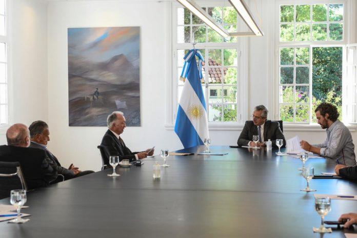 Piden a Alberto Fernández una apertura gradual de comercios después del 13 de abril