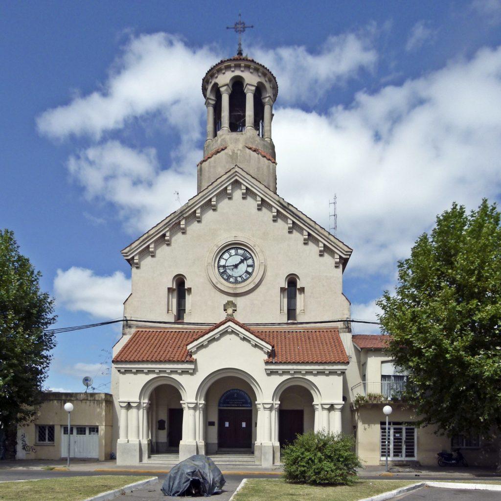 La parroquia de Nuestra Señora de los Dolores. (Foto: Susana Gioacchini)