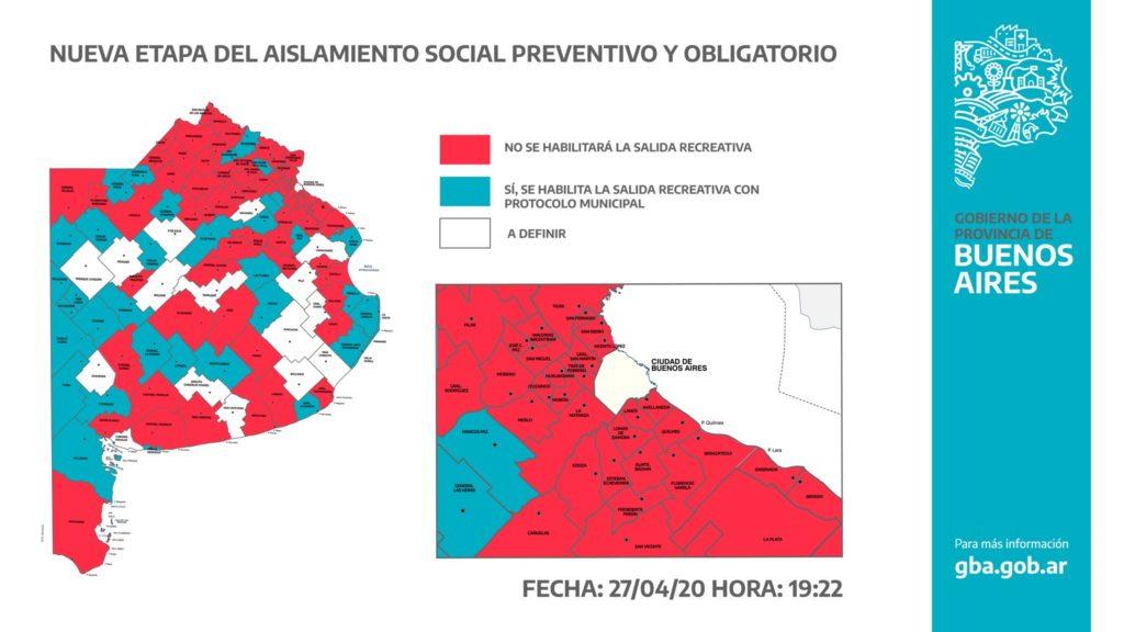 La mayoría de los municipios bonaerenses rechazó las salidas recreativas