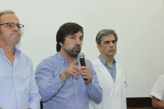El viceministro de Salud nacional, Nicolás Kreplak