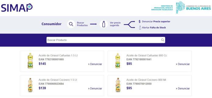 Provincia lanzó página web para denunciar sobreprecios en productos esenciales