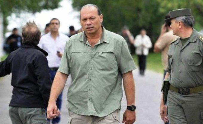 El ministro de Seguridad provincial, Sergio Berni