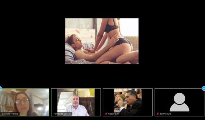 """""""Porno sesión"""" en Luján: filtraron un video hot en una reunión virtual de concejales"""