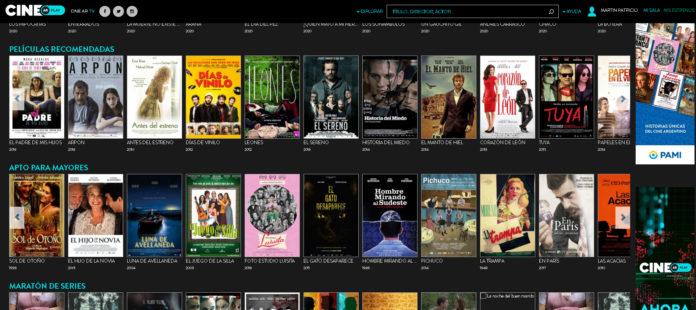 Efecto aislamiento: Cine.Ar triplicó usuarios durante marzo