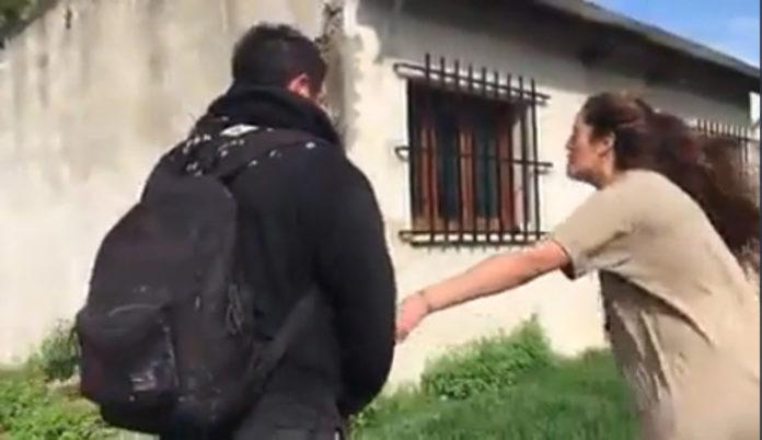 Pergamino: Violencia al máximo, golpeó a su ex que está embarazada y quedó filmado