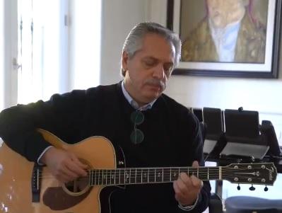 El presidente Alberto Fernández dio un mensaje para chicos y adolescentes.