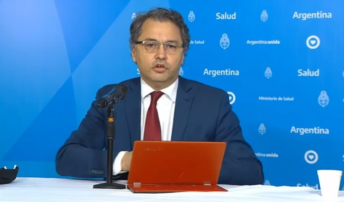 El subsecretario de Acceso a la Salud, Alejandro Costa