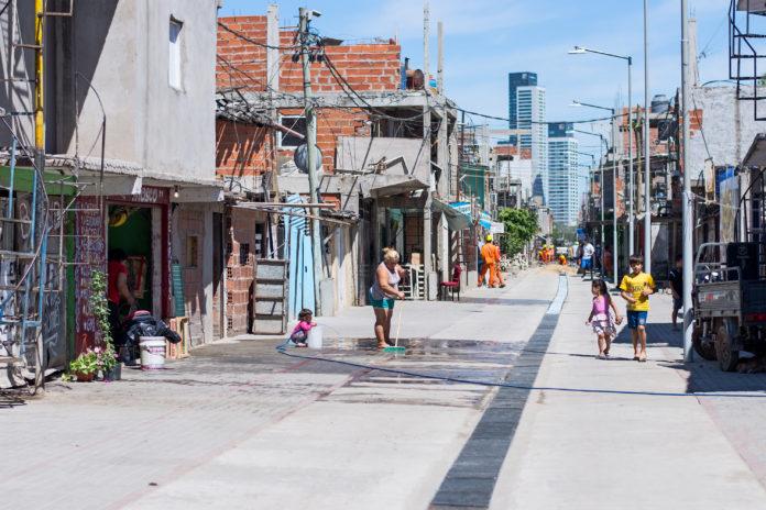 Barrio 31, uno de los más castigados por el coronavirus