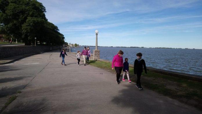 Mar, compras y remate: diez fotos de la flexibilización en la provincia