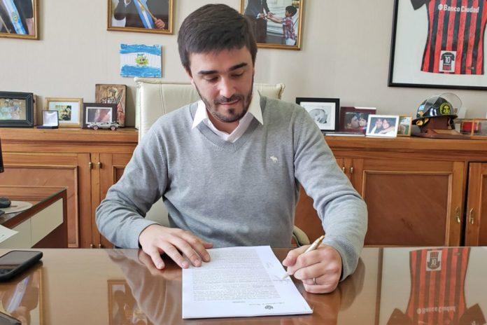 Ezequiel Galli, intendente de Olavarría, es uno de los alcaldes que firmaron el pedido a Kicillof. (Olavarria.gov.ar)