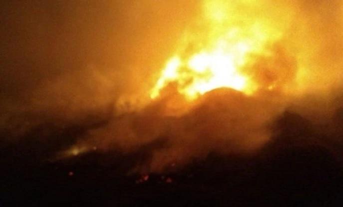 Trabajaron cinco dotaciones de bomberos en el rescate