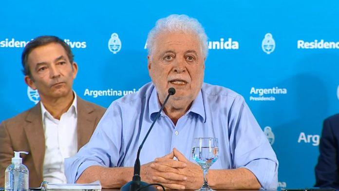 Ginés González García, el ministro de Salud fue dado de alta